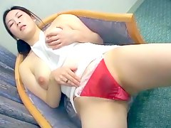 dildo boobs, natural-boobs, masturbating, solo, tits, big-tits